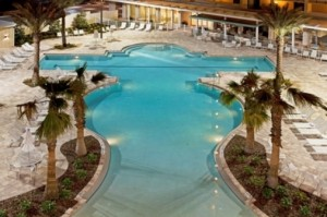 Holiday Inn Disney pool